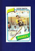 Ozzie Smith HOF 1980 TOPPS Baseball #393 (MINT) San Diego Padres