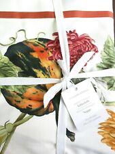 "Williams-Sonoma Harvest Pumpkin tablecloth 70x90"""