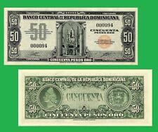 Dominican republic  50 pesos 1947    US  - ( REPRODUKTION)