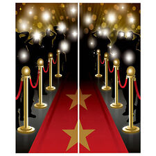 Hollywood Party Award's Night Red Carpet Scene Setter Wall Decorating Kit