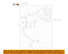 NISSAN OEM Taillight Tail Light-Rear-Combo Lamp Assembly Grommet 265572U000