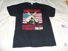 "Brantley Gilbert "" Red Blooded Rockn' Roll Redneck Tour Medium Tee [ 30 ]"