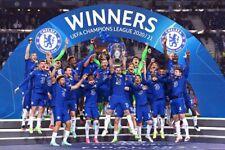 More details for chelsea fc champions league european cup winners 2021 photograph picture print