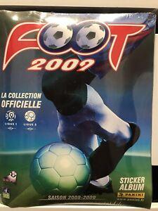 Album Panini neuf complet à coller - Football France Ligue 1 Saison 2008 2009