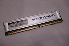 SUPER TALENT D32PB1GJ 1GB DDR-400 PC3200 Heatspreader 64MXB CL3 Desktop RAM