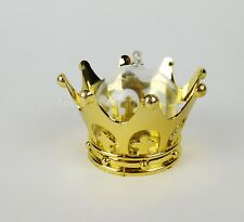 Wedding Fillable Favors Crown Trinket Box Gold Princes Recuerdos Boda Corona 12