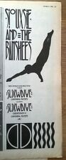 SIOUXSIE & Banshees Slow Dive 1982 magazine ADVERT/Poster/clipping 11x4 inches