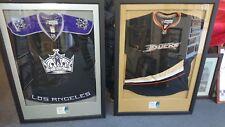 Nhl Premiere 2007 - O2 Arena Signed Framed La Kings v Ducks Jerseys