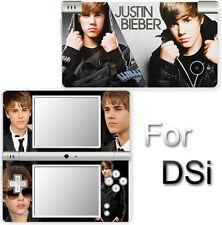 Justin Bieber SKIN STICKER COVER #3 for Nintendo DSi