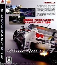 Used PS3 Ridge Racer 7 PLAYSTATION 3 SONY JAPAN JAPANESE IMPORT