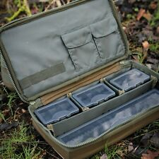 Carp Pro SV Carp Fishing Luggage All in one Rig Station Camo 4 Tackle Boxes