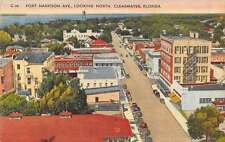 Clearwater Florida Fort Harrison Birdseye View Antique Postcards K37404