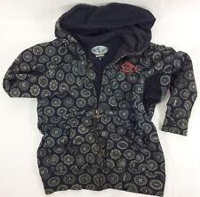 Burton Snowboard Full Zip Hoodie Sweatshirt All USA States Graphic Size M Medium