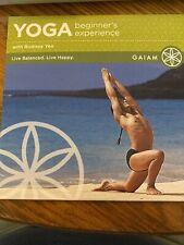 Yoga Beginner's Experience (Dvd) Rodney Yee Brand New fitness 60 min Tutor