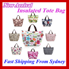 Foil Insulated Lunch Bag Cooler Bag Picnic Lunch Carry Tote Storage Bag