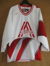 Maillot Hockey sur glace Autriche Austria Nike NHL Vintage Jersey - S