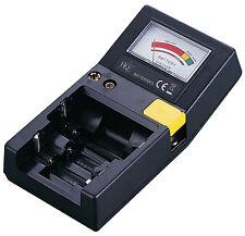 HQ BATTERIA UNIVERSALE Volt Tester per AAA AA C D 9V Pulsante Batterie Cellulari UK