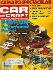 1980 Car Craft Magazine: Camaro Spectacular/Bolt-On Performance Parts/Z-28 Test