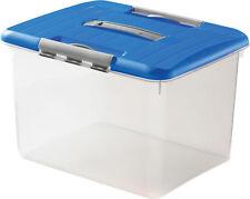 98410 Curver Optima Aufbewahrungsbox Plastikbox Universalbox 30 L