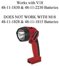 MILWAUKEE 49-24-0165 V18 18 Volt Cordless Flashlight for 48-11-1830 Battery