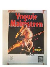 Yngwie Malmsteen Poster German Tour