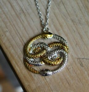 The Neverending Story Necklace Pendant Snake Atreiu