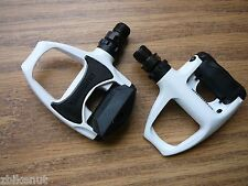 Shimano PD-R540 SPD-SL Road Bike Clipless Bicycle Pedals No Cleats White New