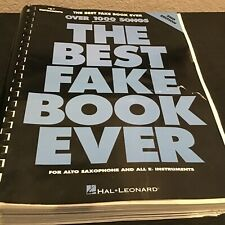 The Best Fake Book Ever 2nd Edition E-flat Edition Sheet Music Book 000240084