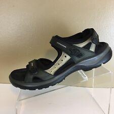 ECCO Sport Sandals Yucatan Leather Multi Color Open Toe Womens Size EU42/ US10.5