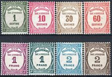 "FRANCE STAMP TAXE 55 / 62 "" SERIE 8 TIMBRES "" NEUFS xx LUXE   M969"