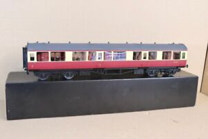 TOWER BRASS G 1 SCALE BR CRIMSON CREAM COLLETT COMPOSITE COACH W7279 BOXED nv