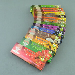 "10 packs 1 1/4"" 78mm Flavored Hornet Bumblebee natural gum Rolling Papers"