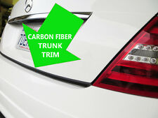 CARBON FIBER TRUNK TRIM Molding Kit for chevy 2001-2006 models #3