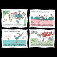 Liechtenstein 1988 - Olympic Games - Seoul - Sc 888/91 MNH