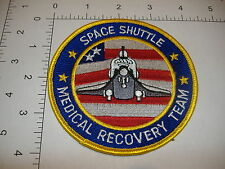 """Space Shuttle Medical Recovery Team NASA space patch 4"""" round MRT rare"""