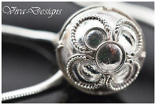 925 Sterling Silver Harmony Ball Silver Pendant