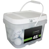 48 Callaway Chrome Soft Near Mint Used Golf Balls AAAA *In a Free Bucket!*