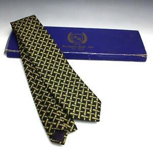 RARE Vintage NIKON Camera Promotional Salesman's Neck Tie w/ Box Hampton Hall