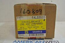 Square D FAL22020 FAL 2P 240V 20A CIRCUIT BREAKER - NEW IN BOX