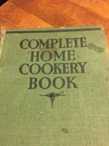 Vintage Recipe / Cookery Book – Complete Home Cookery Book – 1900's – Great!