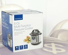 Insignia 8-Quart Multi Function Pressure Cooker NS-MC80SS9  New