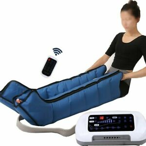 Leg Foot Massager Pressotherapy Body Air Compression Vibration Infrared Therapy