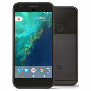 "Google Pixel 128GB Black 4GB RAM 5.0"" 12MP Android Phone By FedEx"