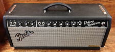 Alessandro Handwired Fender 1965 Deluxe reverb HEAD blackface