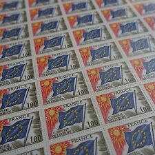 FEUILLE SHEET TIMBRE DE SERVICE EUROPE N°49 x50 1976 NEUF ** LUXE MNH COTE 150€