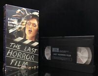 The Last Horror Film VHS Video Treasures Joe Spinell of Maniac RARE 80s Slasher