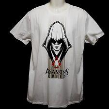 Assassins Creed T-Shirt Tshirt Shirt Sommershirt weiß Baumwolle Größe L - XXL
