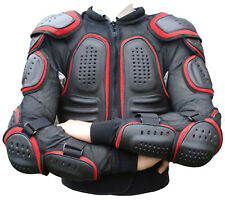 Motorcycle Motocross Cycle Motorbike Body Armour Suit Jacket Spine Protector