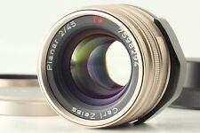 [N-MINT with Hood]  CONTAX Carl Zeiss G PLANAR 45mm f2 T* for G1, G2 From JAPAN