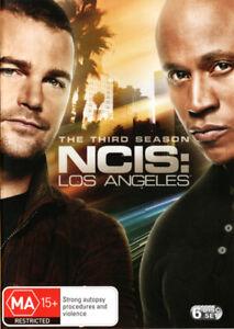 NCIS Los Angeles: Season 3 DVD NEW (Region 4 Australia)
